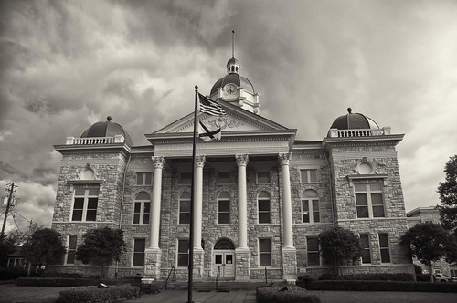 Shelby County Courthouse - Columbiana, Alabama