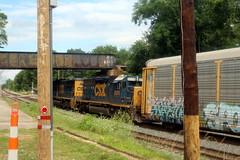 SD40-2 in #2 on Q217, Shenandoah Junction, WV