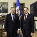 Secretary General Meets Senator Hernán Larrain, Chairman of the Committee on Foreign Relations of Chile