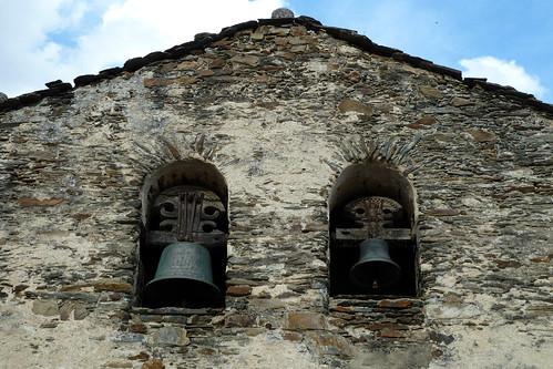 VALDEPINILLOS (La Huerce). Guadalajara. Spain. 2014. Iglesia de Santa Bárbara (sXIX). Campanario.