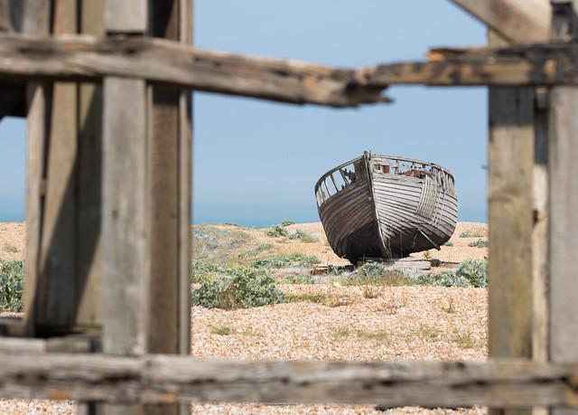 Dungeness fisherman's hut 02 jun 17