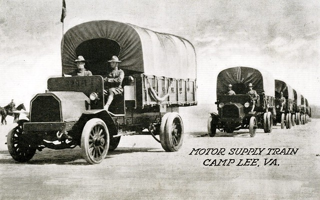 Motor Supply Train, Camp Lee, Va.