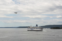 BC Ferries - SoBC southbound in Swanson Channel en route to Swartz Bay.