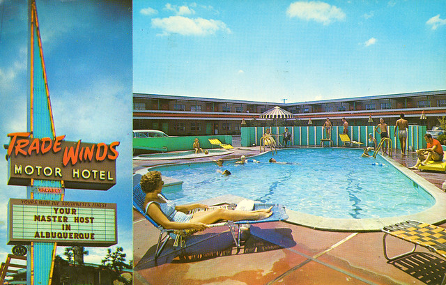 Trade Winds Motor Hotel, Albuquerque, New Mexico