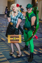 Bombshell Black Canary and Green Arrow