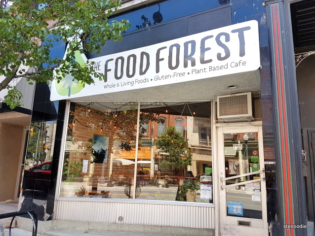 The Food Forest storefront
