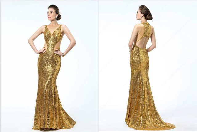 Backless Formal Dress