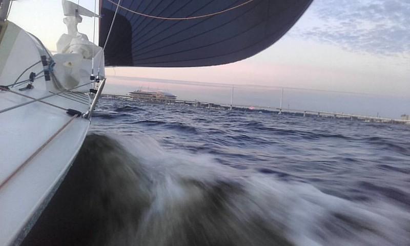 Спасибо Андрею И экипажу яхты Estetica  #elf620 #yachting #sailing #spb #spb #яхтинг #спб #парусныйспорт #central_yacht_club