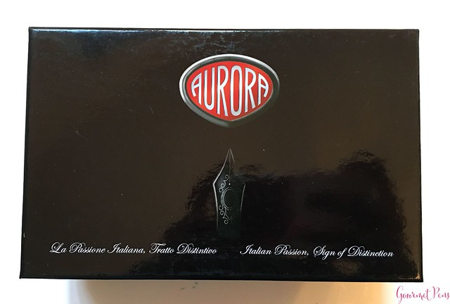Review Aurora 88 Anniversario - Fine Flex Nib @CouronneduComte 2