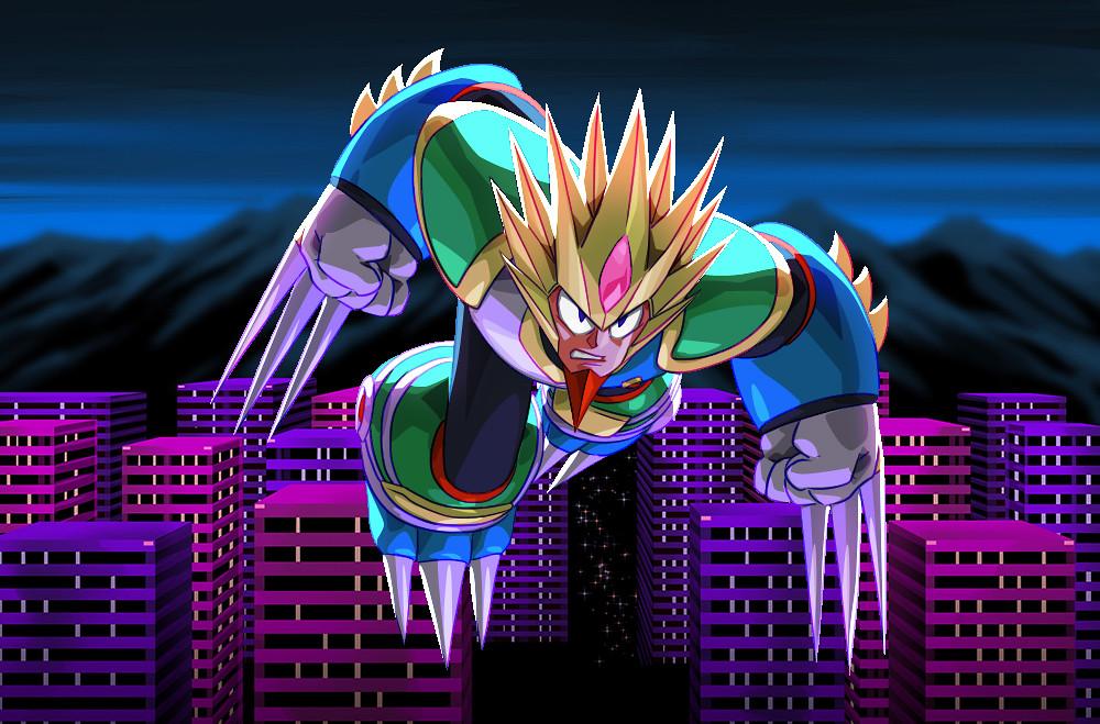 Mega Man Legacy Collection 2: Slash Man