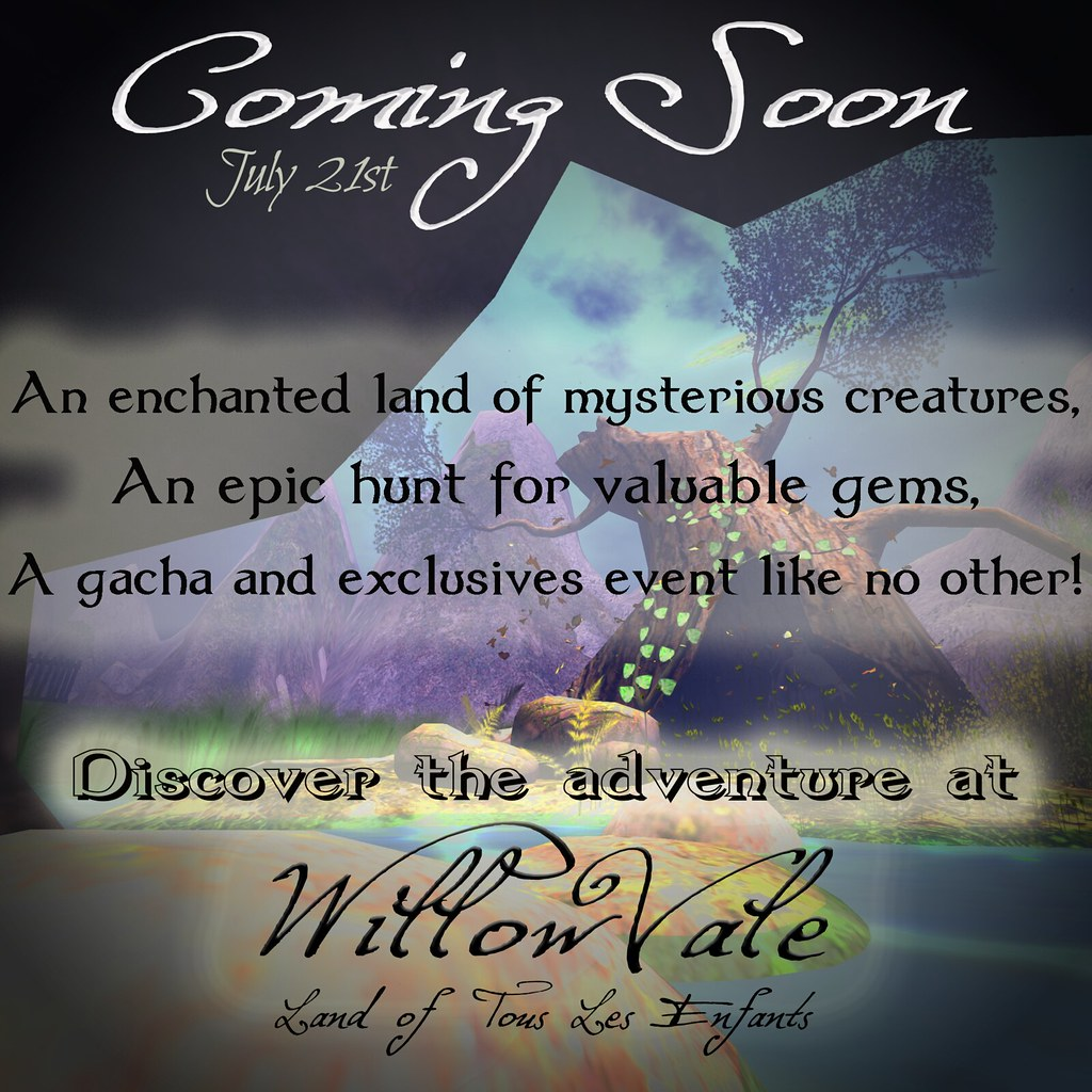 Willowvale Coming Soon! - SecondLifeHub.com