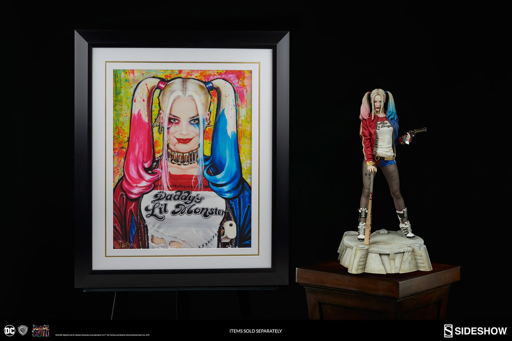 Sideshow Collectibles 自殺突擊隊【小丑女 哈莉·奎茵】Suicide Squad Harley Quinn 1/4 比例全身雕像作品