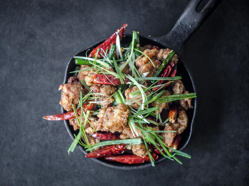 La Zhi Ji Ding – Sichuan Popcorn Chicken