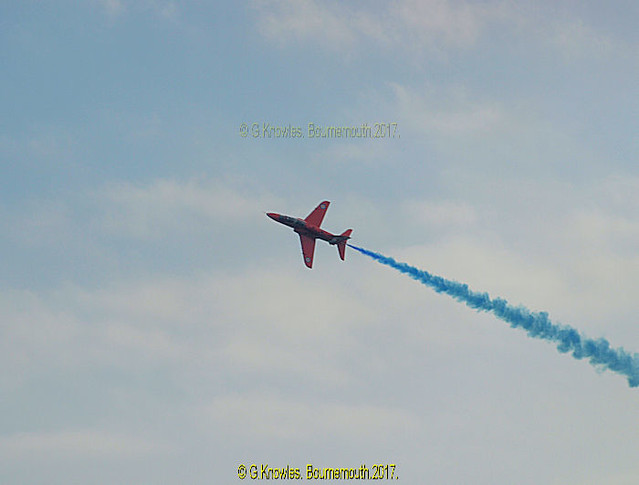 Bournemouth Air Festival, 18th August 2016, from the Undercliff Drive, Bournemouth, Dorset. England.