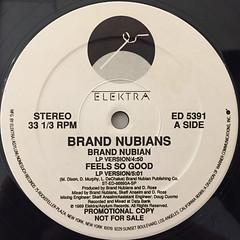 BRAND NUBIANS:BRAND NUBIAN(LABEL SIDE-A)