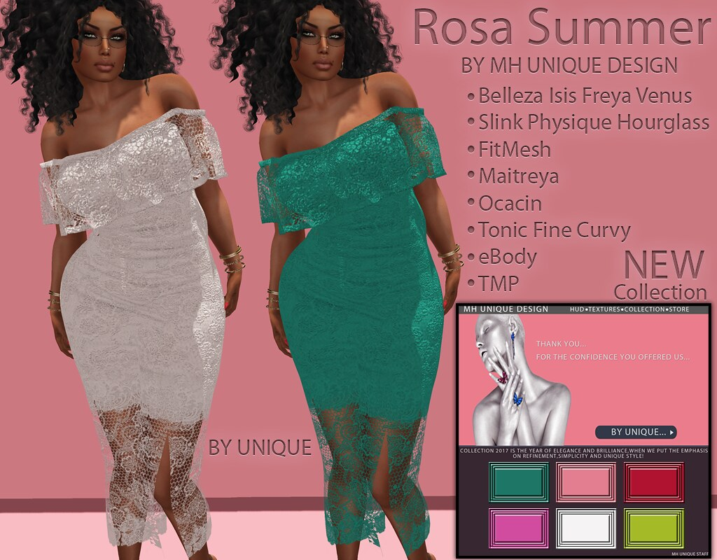 MH-Rosa Summer Collection - SecondLifeHub.com