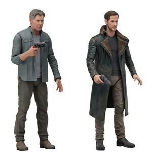 NECA 銀翼殺手2049 【德卡&警官K 組合包】Blade Runner 2049 Deckard&Officer K   7″ Scale Action Figures – Series 1 Assortment