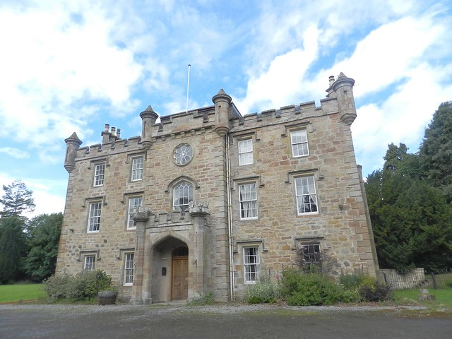 Teaninich Castle, Alness, June 2017