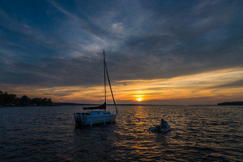 victoria harbor ontario canada sunset sun sky clouds boat fishing nature landscape nikon d750 colors water lake scenic scenery beautiful amazing outdoors