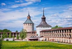 Walls and Towers. Kirillo-Belozersky Monastery, Kirillov, Vologda region.