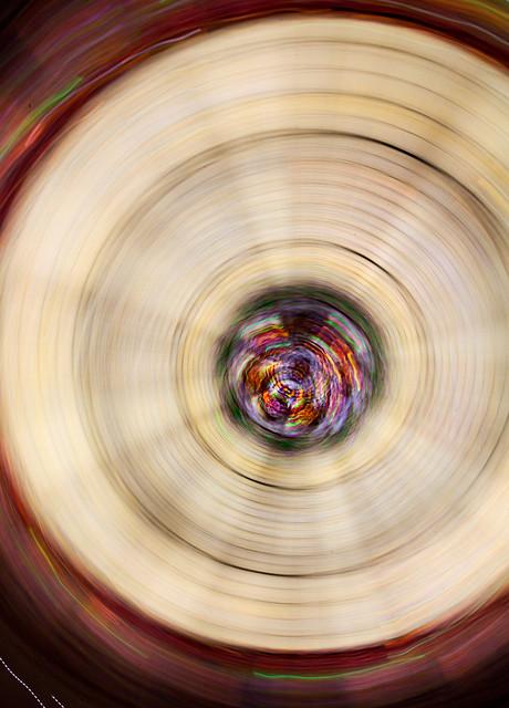 spinning eye