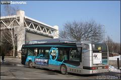 Irisbus Agora S - Sémitag (Société d'Économie MIxte des Transports publics de l'Agglomération Grenobloise) / TAG (Transports de l'Agglomération Grenobloise) n°3022