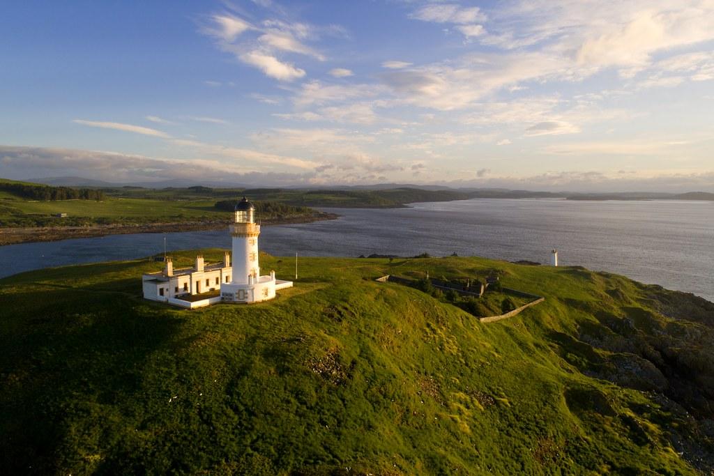 Little Ross lighthouse, Kirkcudbrightshire