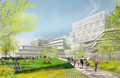 Harvard Science and Engineering Complex Renderings