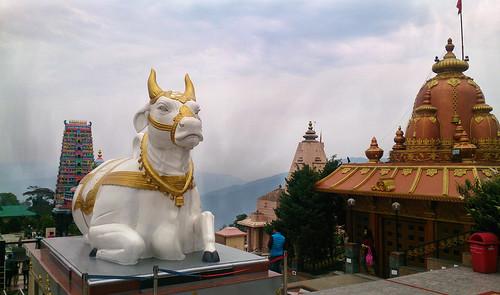 nandibull namchi sikkim india chardham temple uasatish