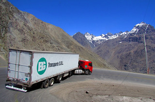 Volvo FH 400 in the Andes