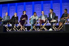 Tim Minear, Kathy Bates, Sarah Paulson, Cuba Gooding, Jr., Denis O'Hare, Cheyenne Jackson and Adina Porter