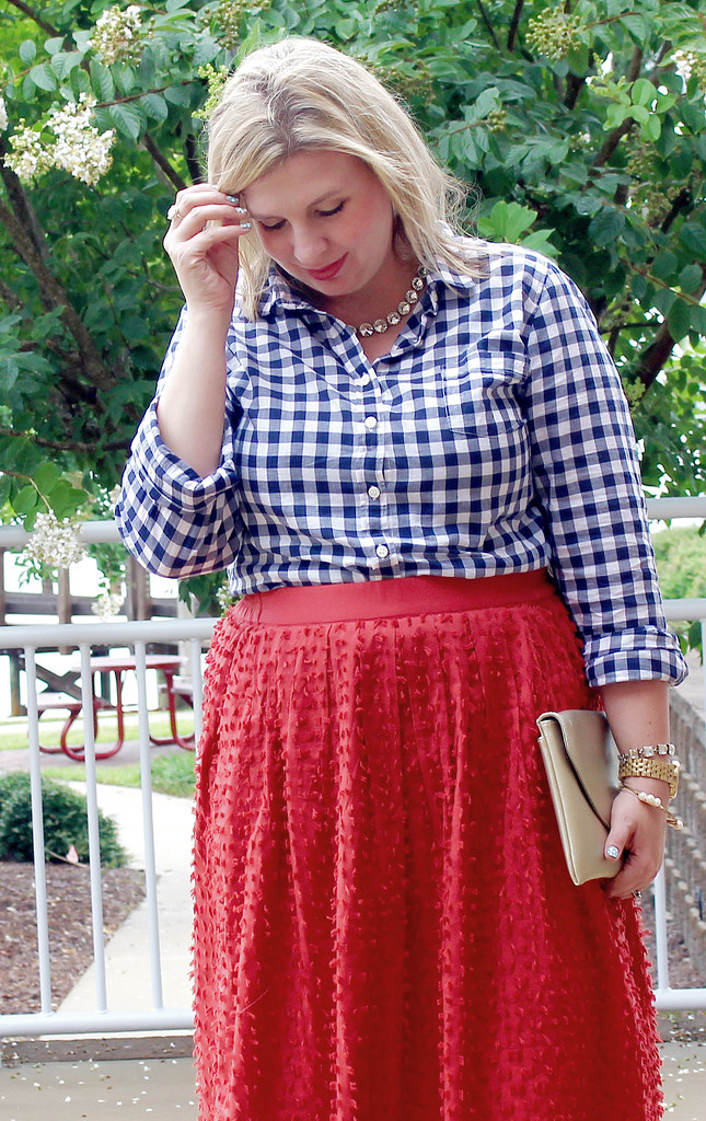 red midi skirt and navy gingham 1_zpsjv64sqky