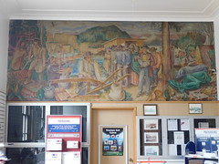 Kelso, Washington Post Office Mural