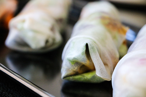 Homemade Ricepaper-Summer-Rolls made by LeLo http://machetwas.blogspot.com