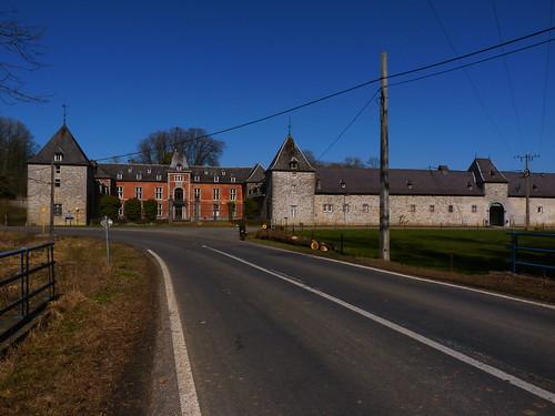 Château-ferme de la Forge à Anthée
