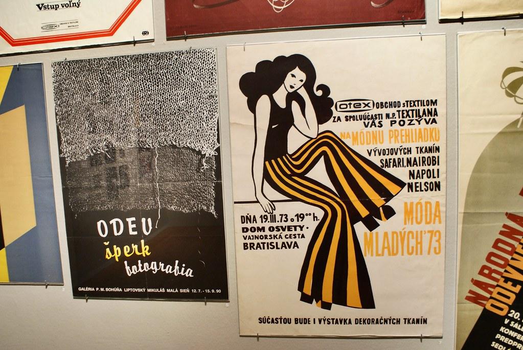 Expo sur la mode, Musée National de Bratislava