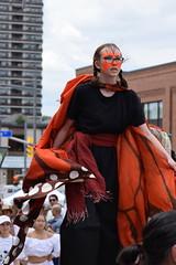 Stilt woman