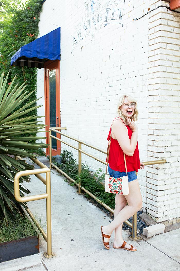 austin fashion blogger writes like a girl red tank top5