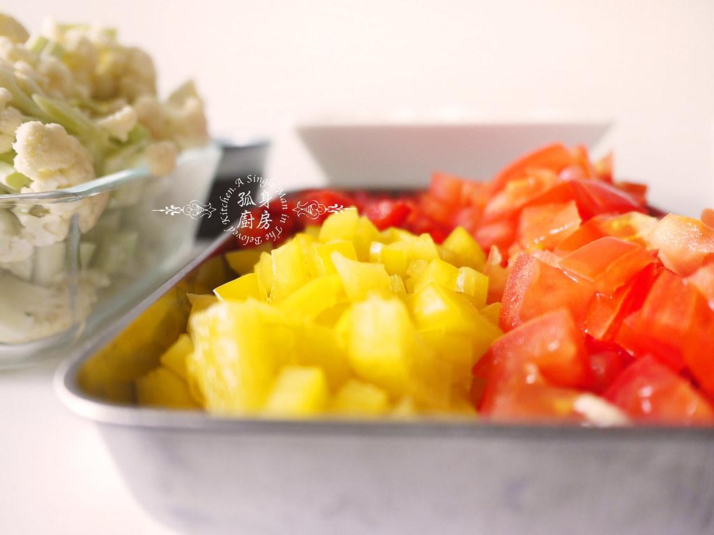 孤身廚房-Staub媽咪鍋煮超滿的印度蔬食花椰菜咖哩7