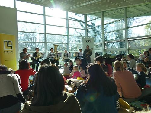 CSO Brass ensemble, South Library
