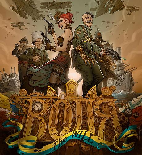 Украинский стим-панк комикс Воля