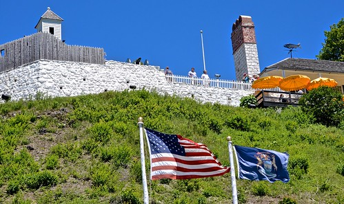 fort mackinacisland view walkway