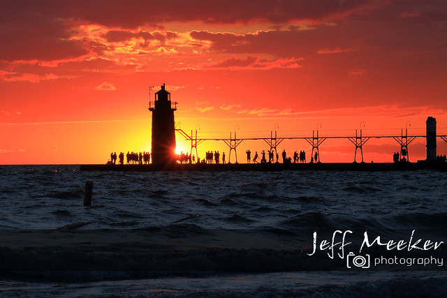 Father's Day Sunset in South Haven
