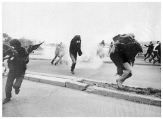 Tear gas used to disperse Mayday protesters: 1971