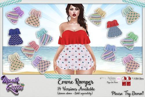 MANIK QUEEN - Emme Romper @ The Saturday Sale 6/17