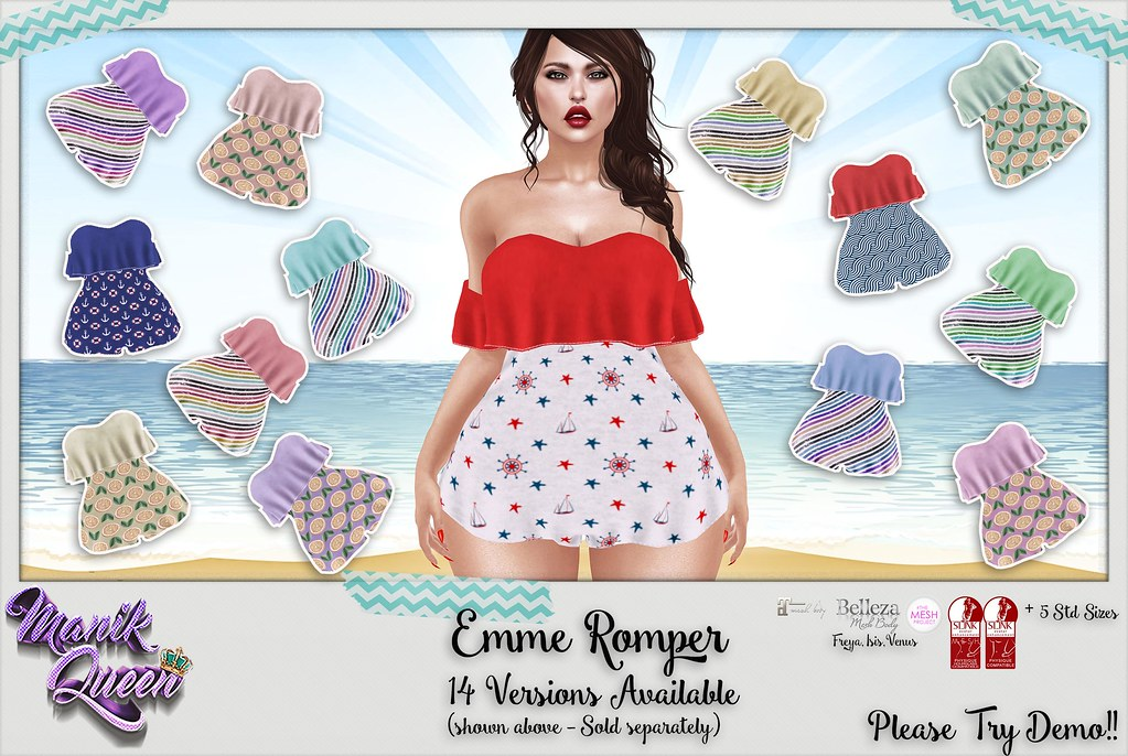 MANIK QUEEN - Emme Romper @ The Saturday Sale 6/17 - SecondLifeHub.com