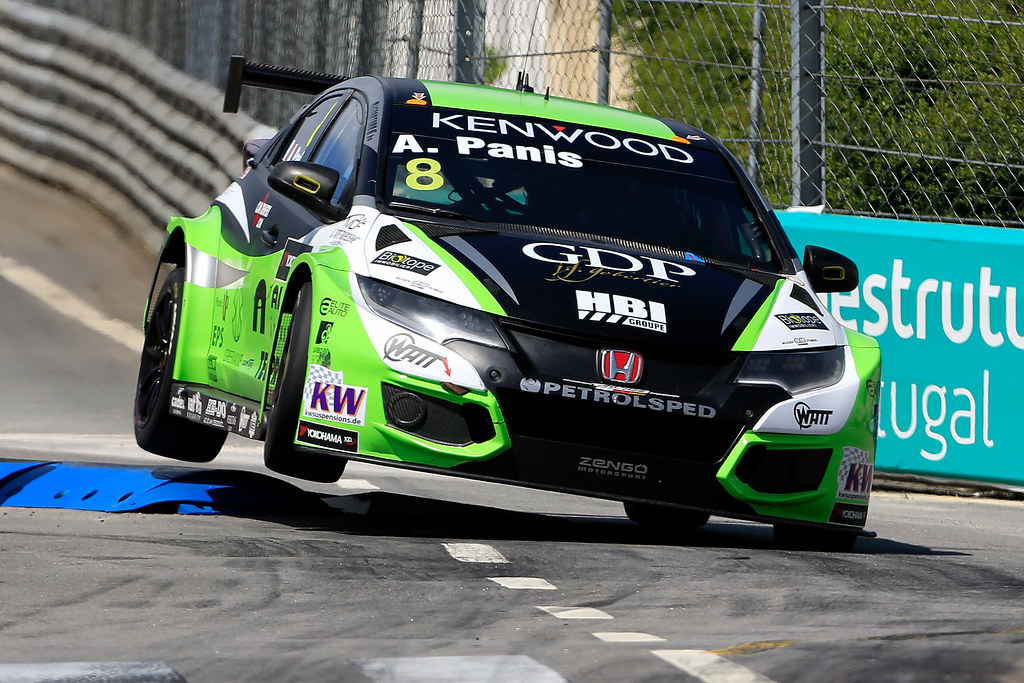 08 PANIS Aurélien (fra) Honda Civic team Zengo Motorsport action during the 2017 FIA WTCC World Touring Car Championship race of Portugal, Vila Real from june 23 to 25 - Photo Paulo Maria / DPPI