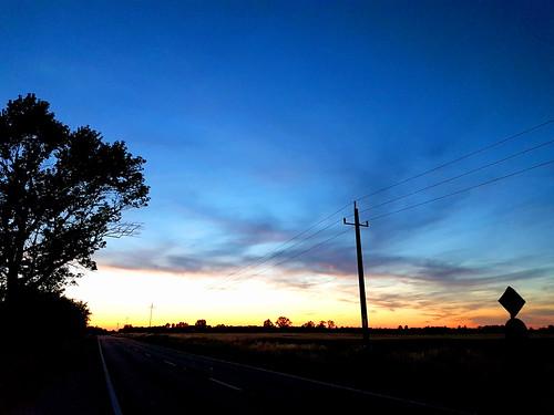 sunset im nirgendwo