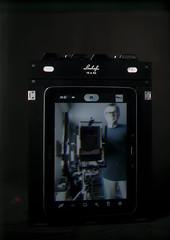 SELFIE TRICHROMY  2,Samsung-Linhof 18x24 cm