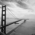 24. Juuni 2017 - 20:52 - Golden Gate Bridge. After living in the Bay Area for 9 months, we still hadn't made it across the Golden Gate Bridge. Until last Saturday. This shot was taken from Battery Spencer. It was a good day, with the top of pillar on the San Francisco side just sticking out above the fog/clouds in this shot.